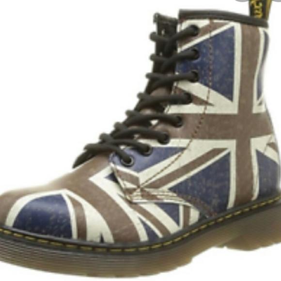 British Flag Dr Martens | Poshmark